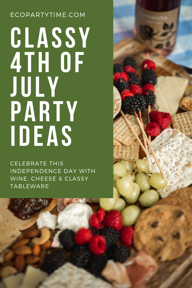 How to throw a Classy, Eco-friendly Fourth of July Picnic -Ecopartytime