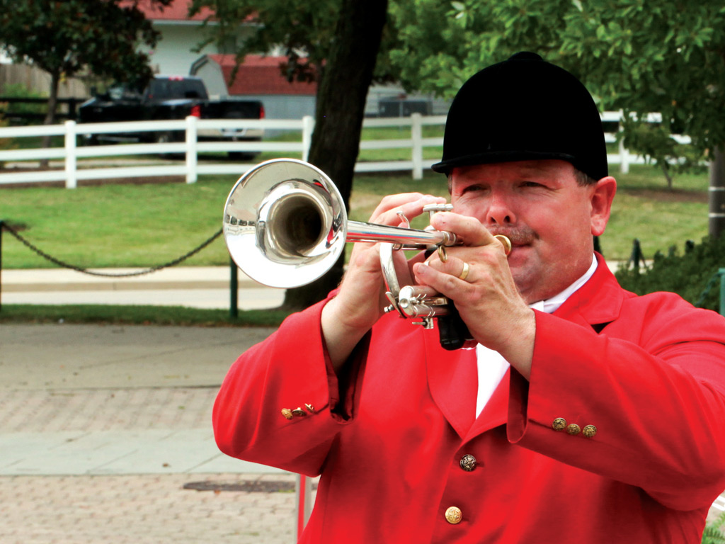 Kentucky Derby Wedding Trumpet Player