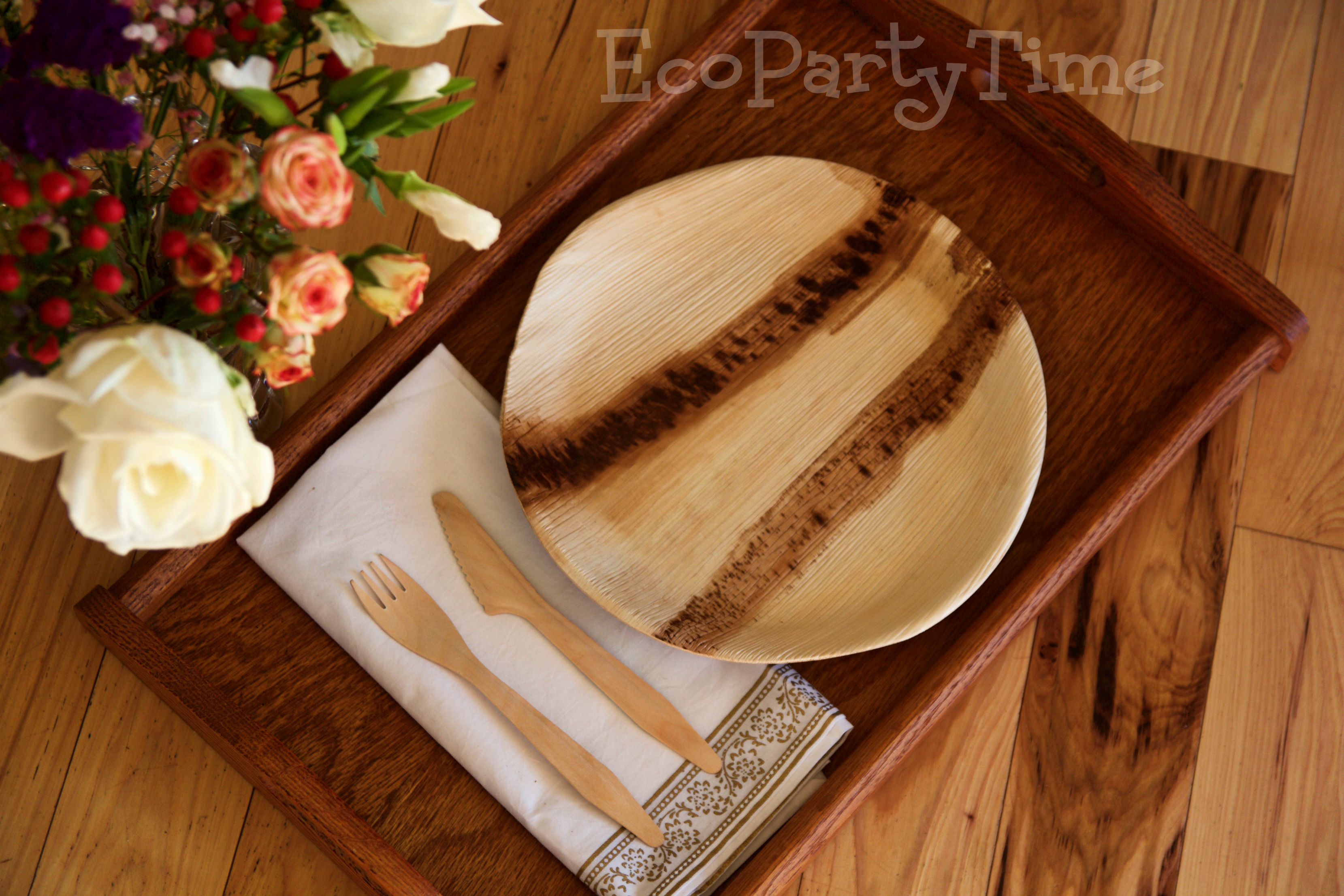 Ecopartytime: Eco Friendly Palm Leaf Tableware