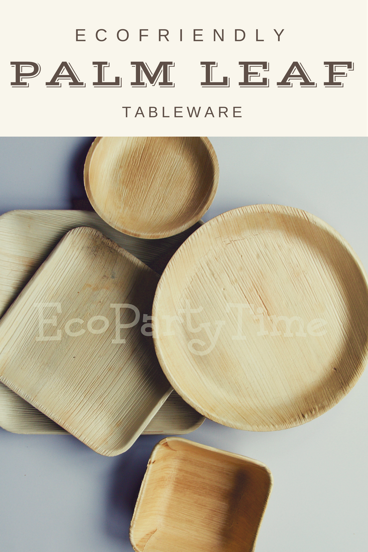 Ecopartytime: Eco-Friendly Palm Leaf Tableware