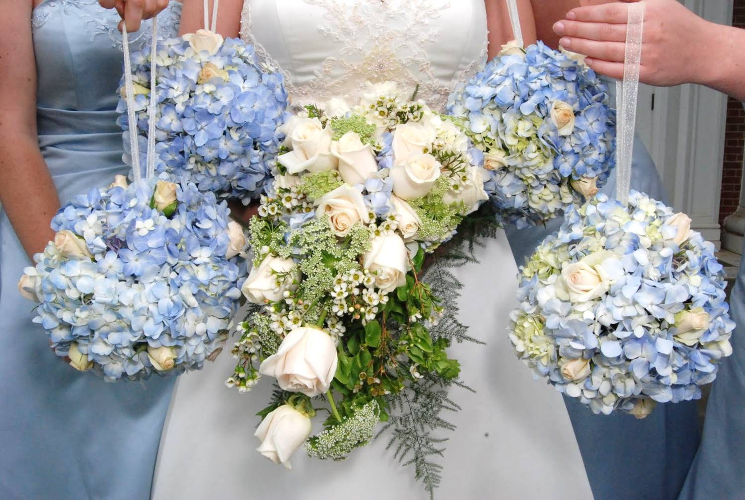 Pantone Wedding Blue Hydrangeas