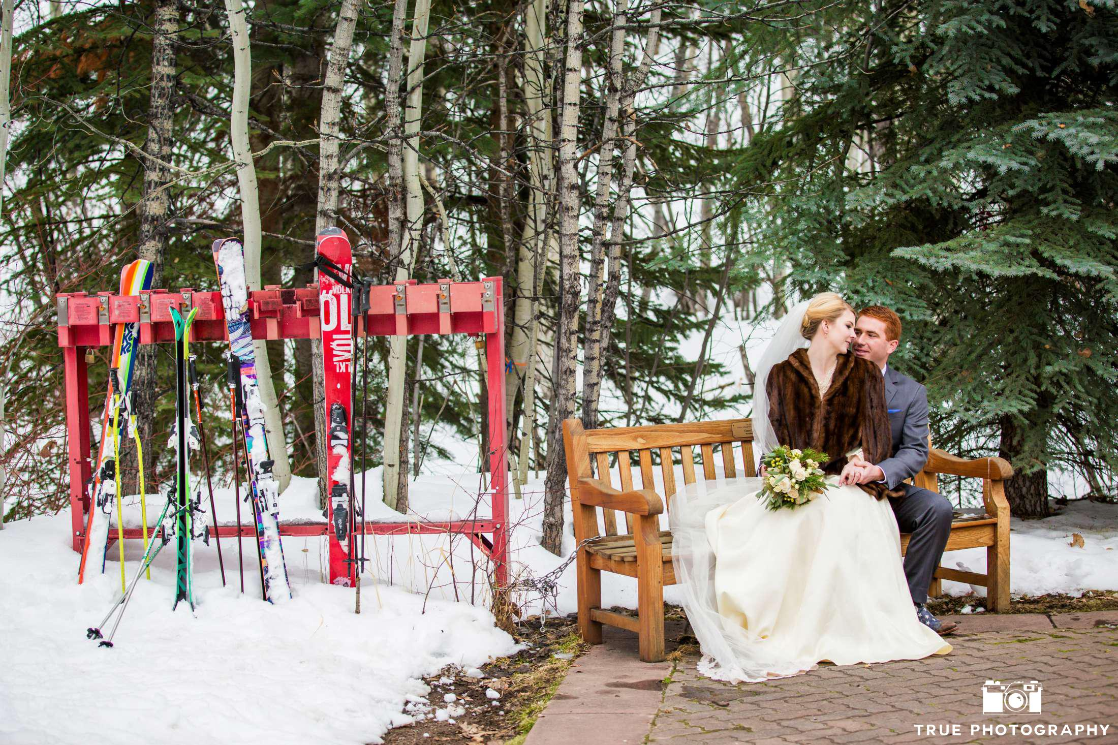 Sustainable Ski Mountain Weddings - Ecopartytime  (Photo Credits: True Photography)