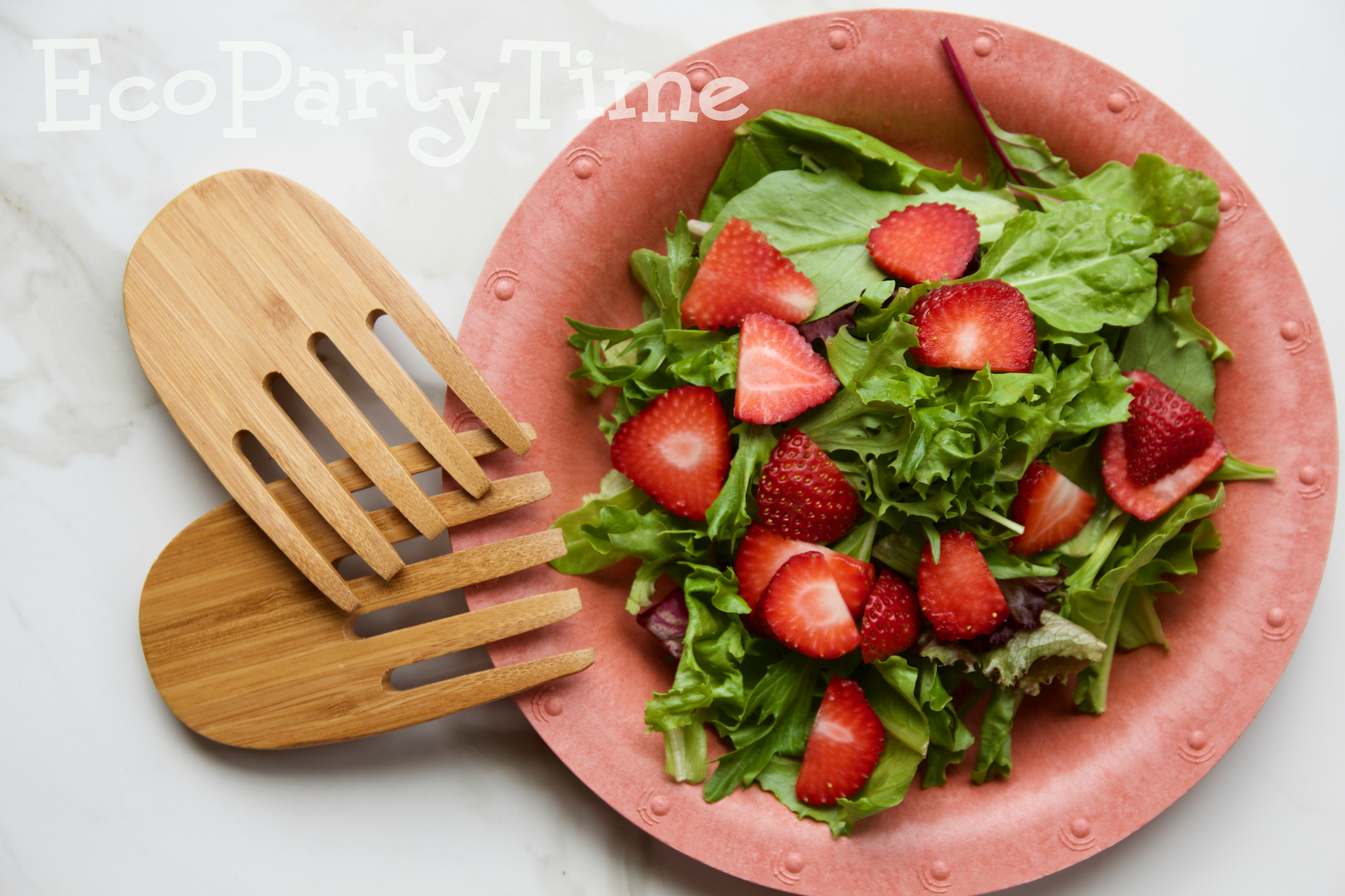 Ecopartytime: Eco-Friendly Strawberry Themed Party