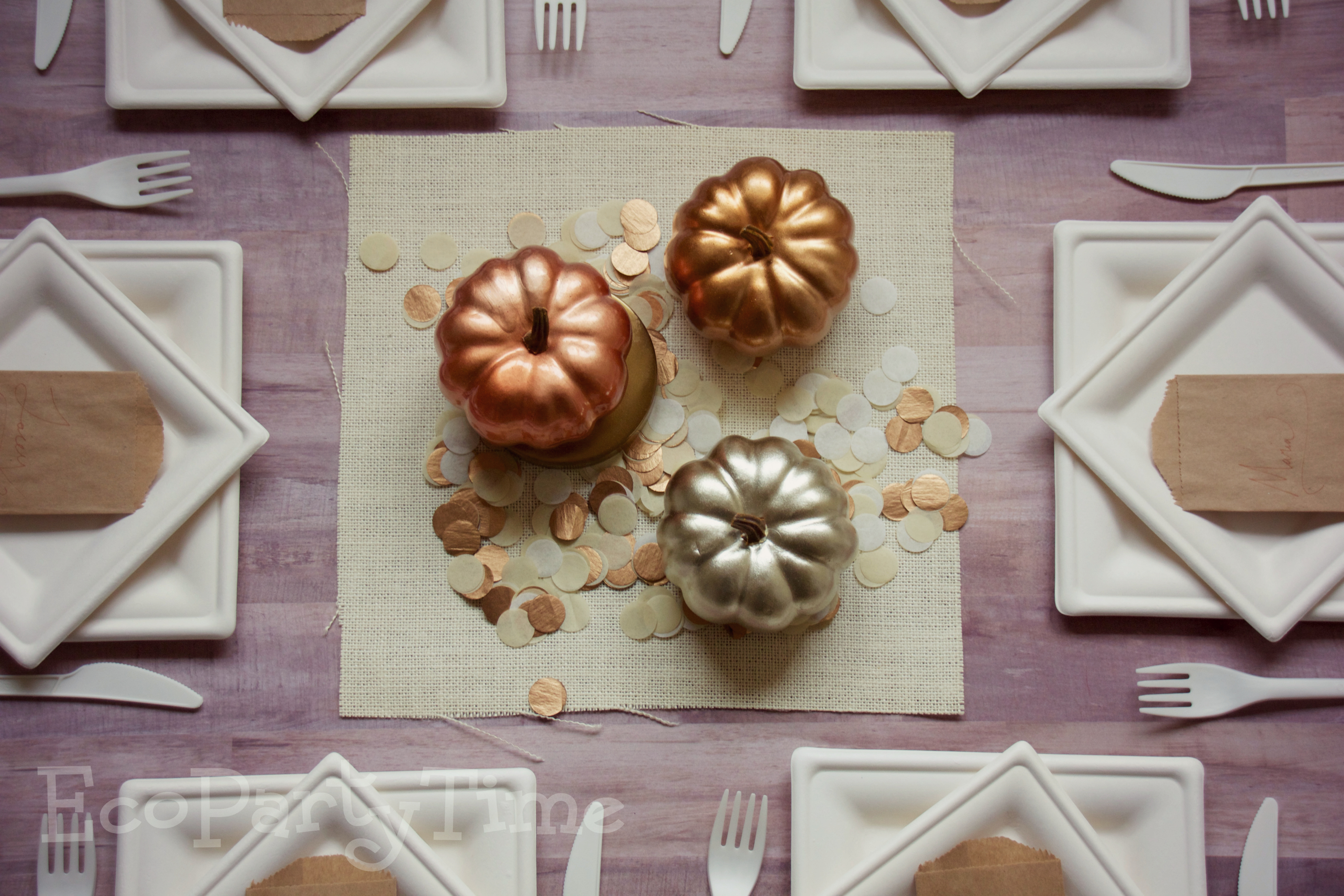 Ecopartytime; Eco-Friendly Thanksgiving Inspiration