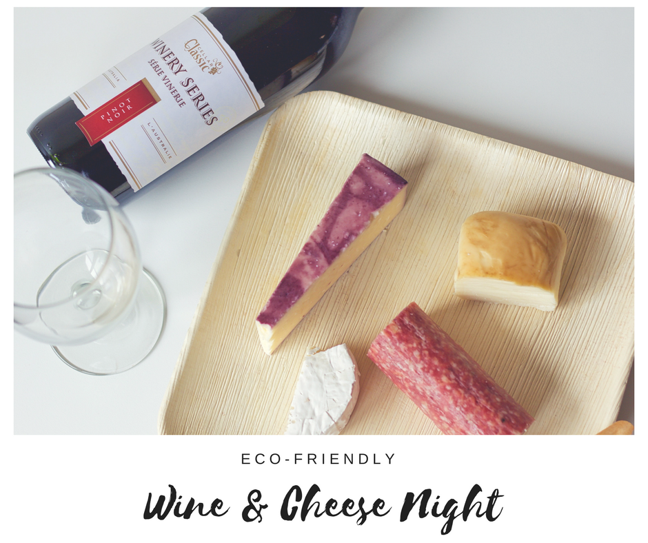 Ecopartytime: Eco-Friendly Wine and Cheese Night