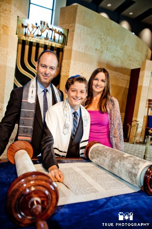 Green Bar and Bat Mitzvahs from Ecopartytime - Torah Reading