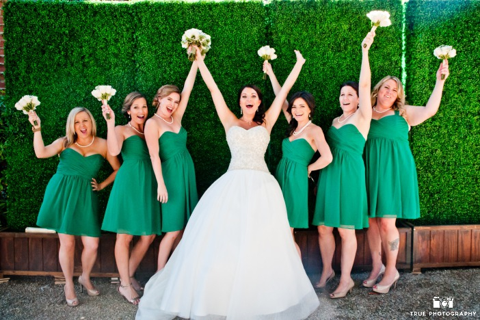Eco-Chic Celtic Wedding Ideas from Ecopartytime - Irish Wedding Theme Bridal Party