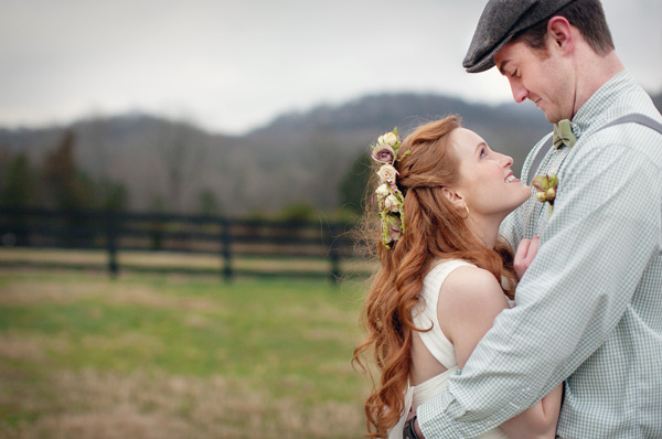 Eco-Chic Celtic Wedding Ideas from Ecopartytime - Celtic Countryside Wedding Image