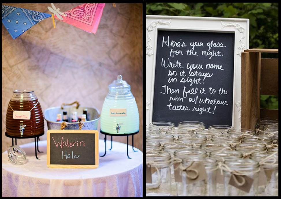 Chalkboard Wedding - Decorative Chalkboard Signs