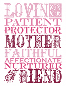 Mother's Day Tea Party - Sign