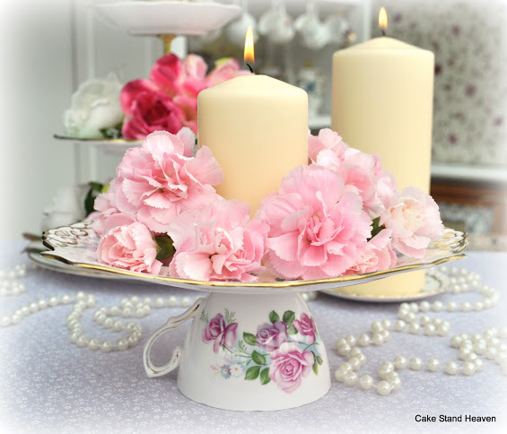 Mother's Day Tea Party - Vintage Cup Stand