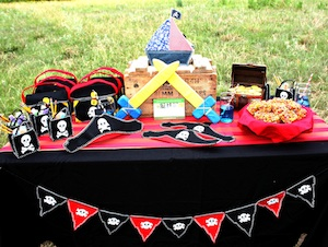Pirate Party Decorations Favors Costumes And Treasures Part1