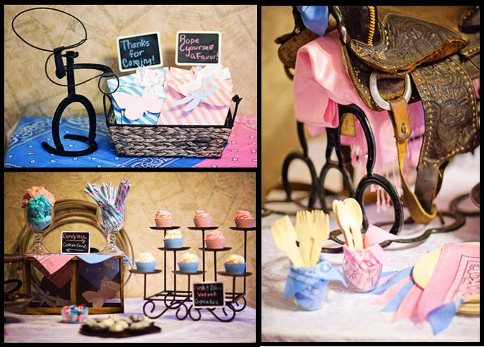 """""""Cowboy or Cowgirl"""" Gender Reveal on Pinterest 